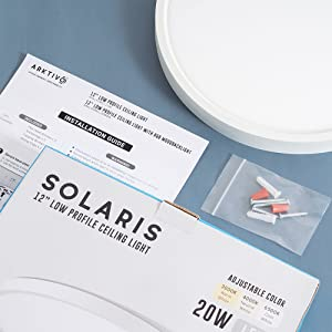 led ceiling lights packaging