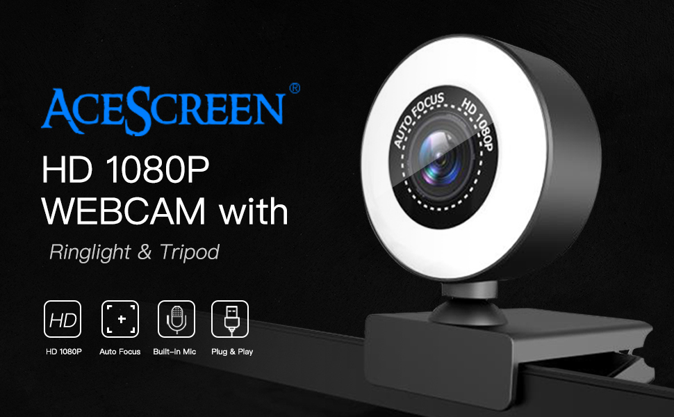 AceScreen - Webcam