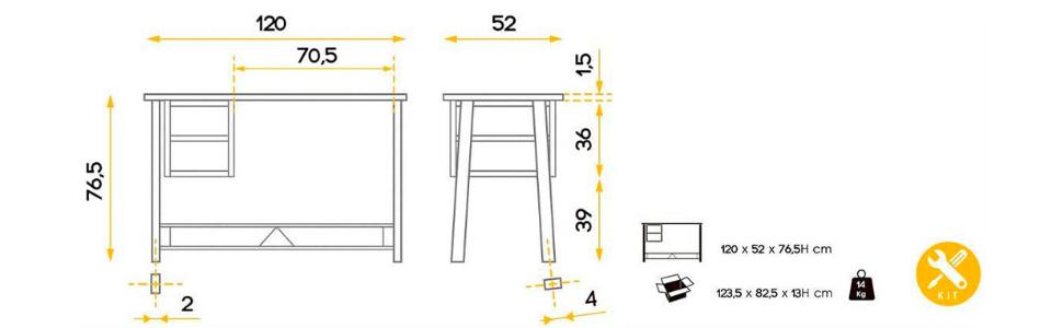 mesa de escritorio, mesa ordenador, mesa escritorio, escritorios juveniles,