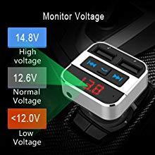 Car Battery Voltage Display
