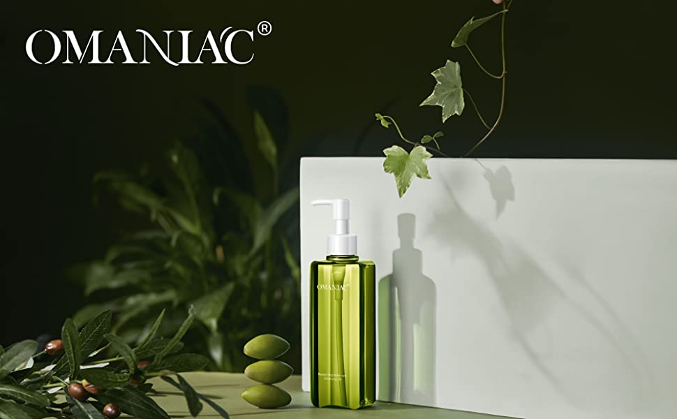 OMANIAC Forest Nuts Deep Cleansing Oil, 6.76 fl.oz,  Natural Oil Cleanser