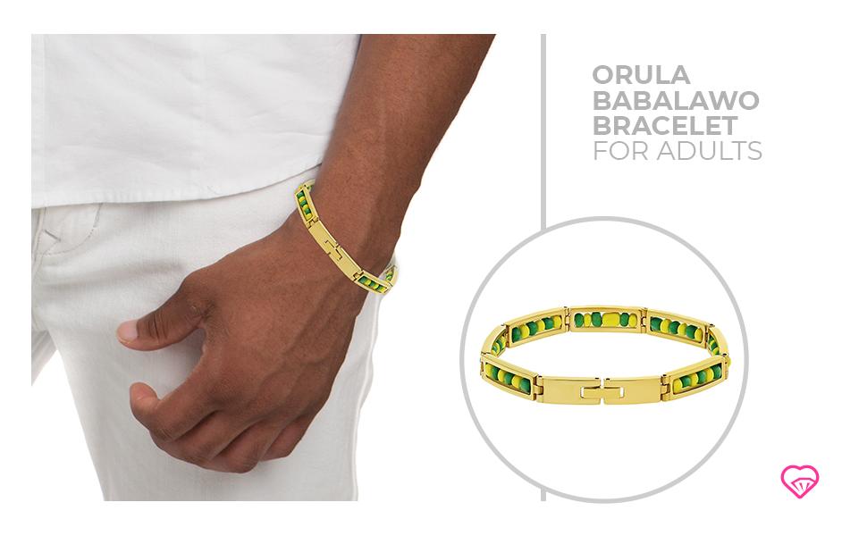 orula bracelet open