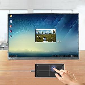 portable touchscreen monitor