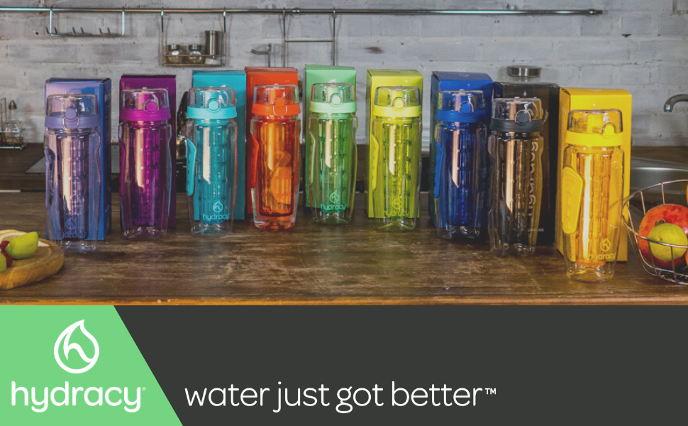 fruit infuser water bottle time marker hydration healthy women gym yoga sport