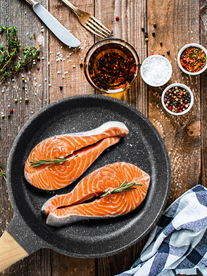 Nonstick Frying Pan, Give You Less 0il and Healthy Life