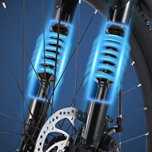 Water Proof Front Light Front suspension fork