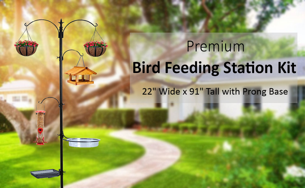 Deluxe Premium Bird Feeding Station