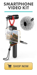 Smartphone Video Kit by Movo perfect youtube equipment with microphone for iphone iphone mic