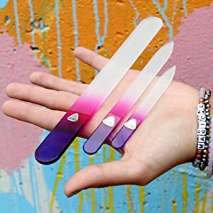 bona fide beauty, nail file, nail files, glass nail file, glass nail files, manicure file, nail care