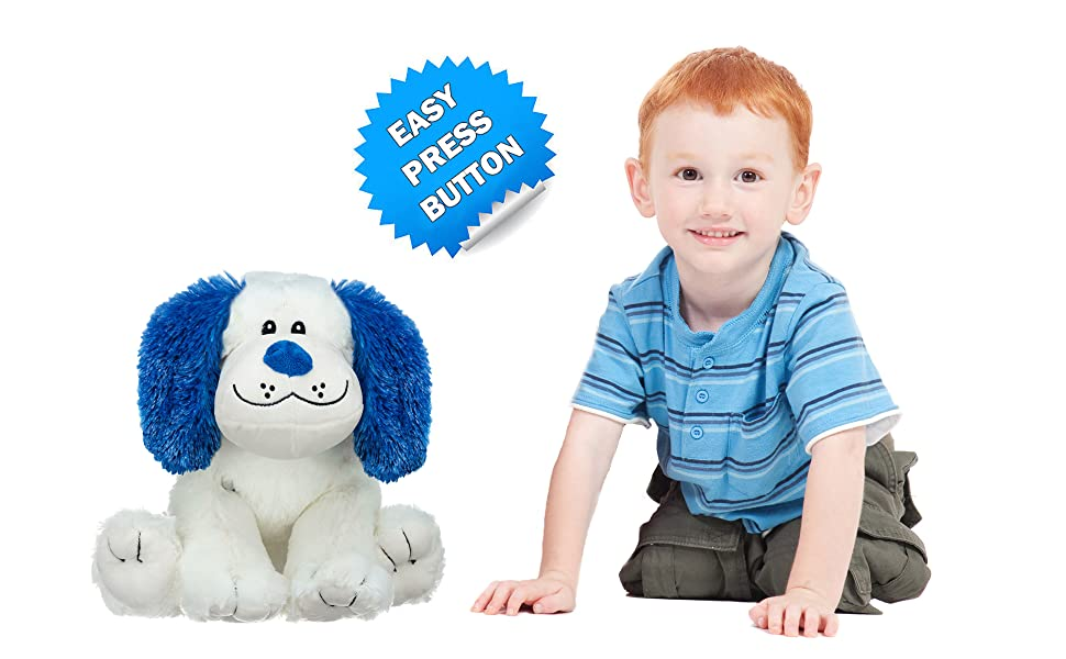 stuffed animal puppy dog toddler boy girl children light up plush bear