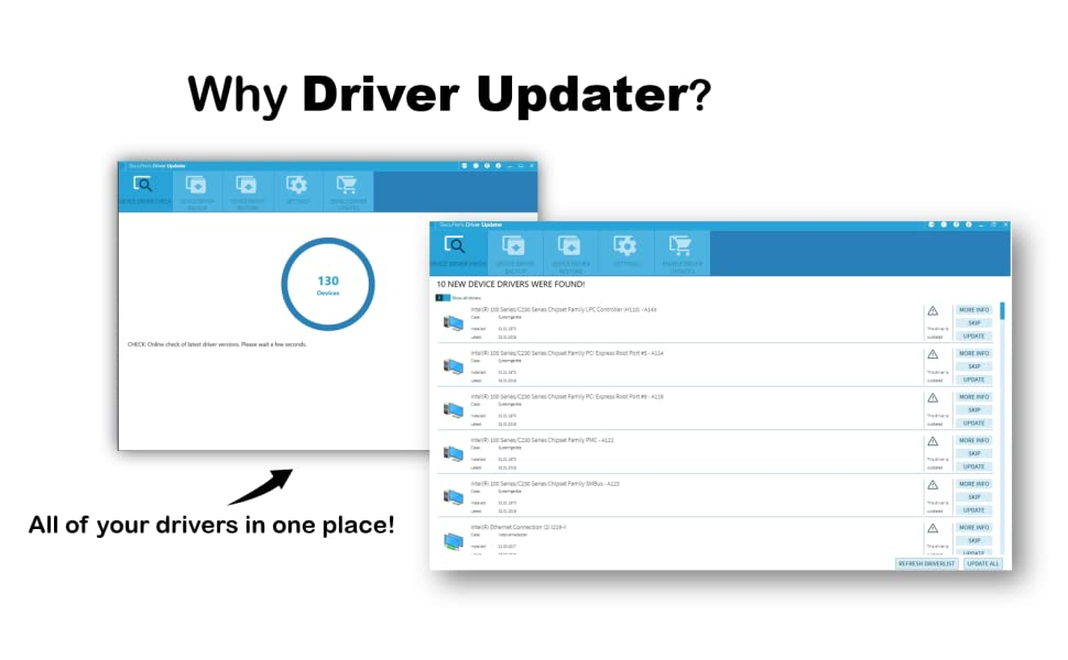 all of your drivers in one place with driver updater