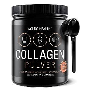 collageenhydrolysaat het drinken van gelantine kraakbeenbeschadiging huidverschijning eiwitpoeder