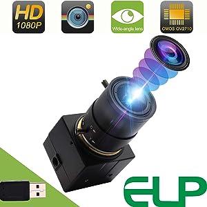 100fps webcam 低照度 200万画素 マイク内蔵 ウェブカム 2MP OTG USBカメラモジュール対応Mac / Windows / Linux / Android