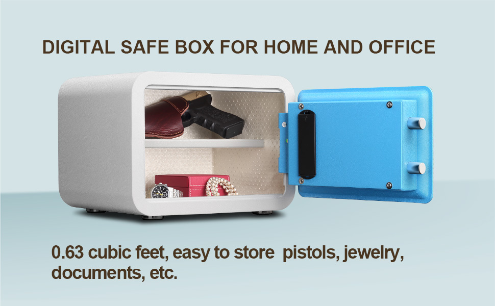 Digital safe box for home and office