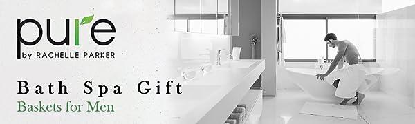 bath spa gift. baskets for men