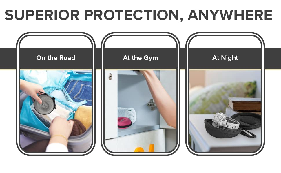 Superior Protection, Anywhere: On the Road, At the Gym, At Night