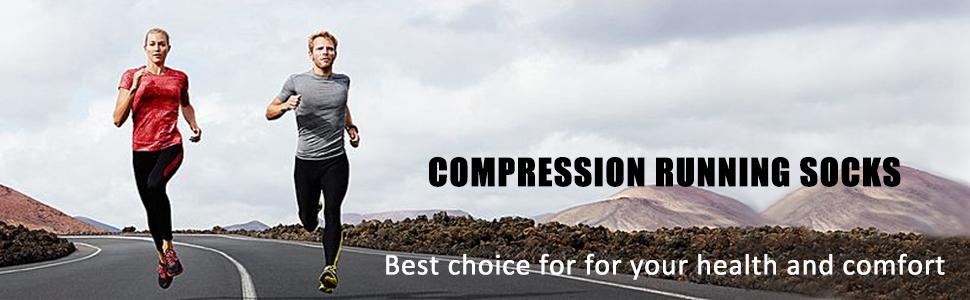 running socks mens compression