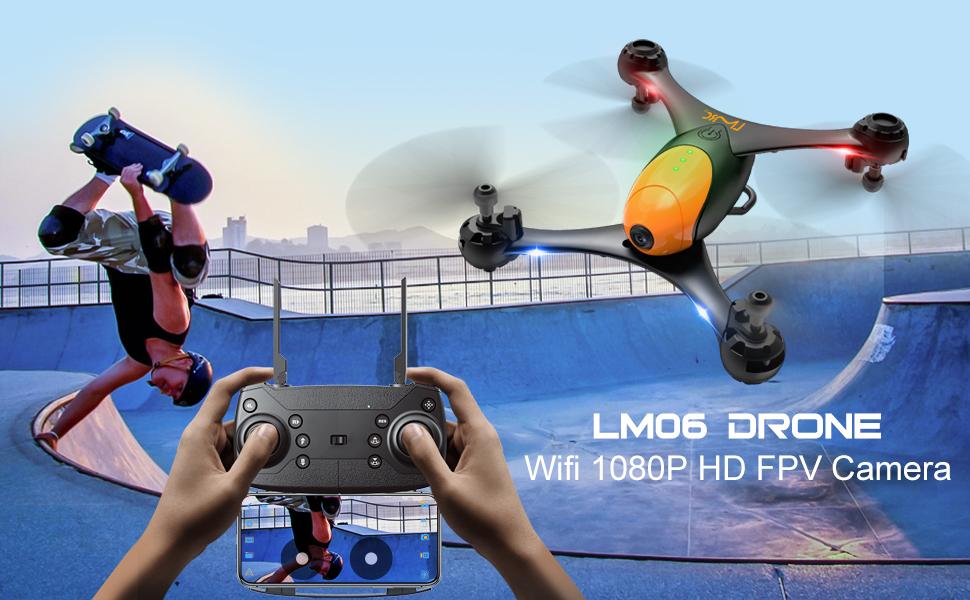Drone with 1080P HD FPV Camera