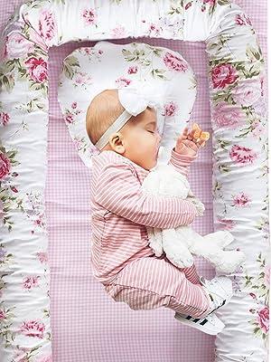 brandream baby nest bed floral
