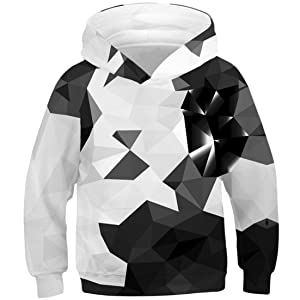 Corriee Sweatershirts for Men Fashion 3D Printing Creative Hoodie Tops Casual Long Sleeve Shirts Top Blouse