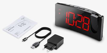 VERSIÓN SIMPLE,Despertador Proyector,Mpow Despertadores Digitales ...
