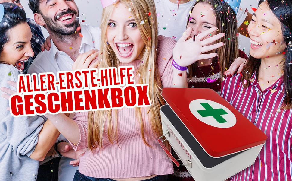Erste-Hilfe Geschenkbox
