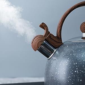 whistling tea pot
