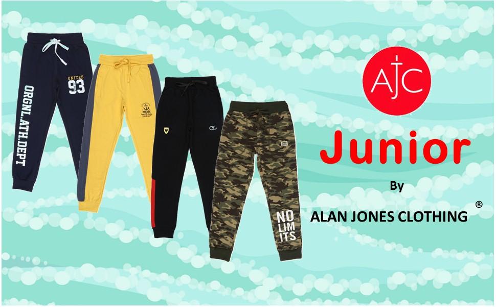 Alan Jones Kids Joggers Banner