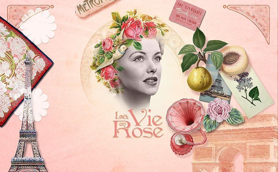 Un Air dAntan Caja Belleza Rose Mujer,1 Gel de Ducha 250ml, 1 Crema Corporal Hidratante 200ml|Perfume Original Melocotón, Petalos de Rosa, Pachulí|Navidad Regalo Mujer Originales Cumpleaños: Amazon.es: Belleza