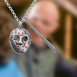 Jason Jewelry Friday the 13th Necklace Horror Movie Fan Necklace