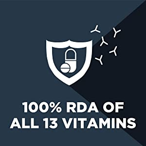 contains 13 vitamins