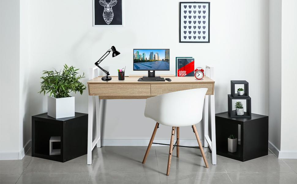 LUCKYERMORE Computer Desk