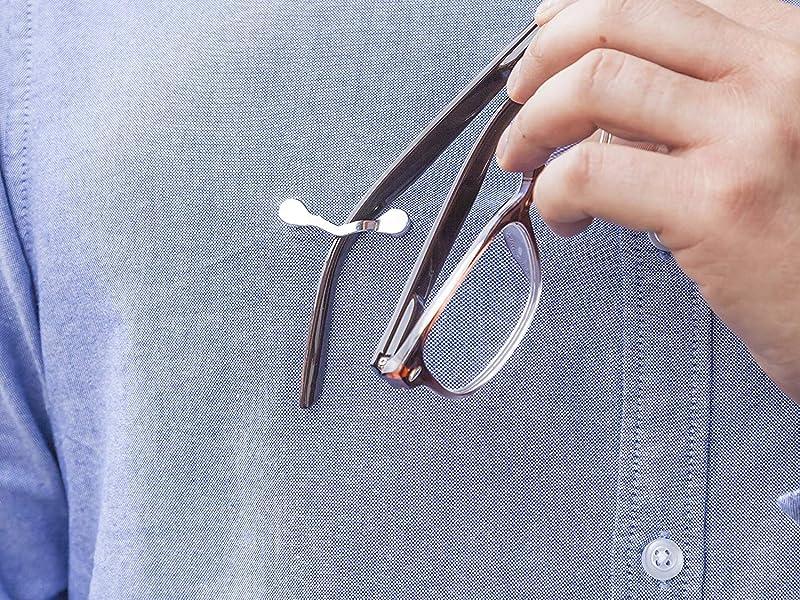 Using Magnetic Eyeglass Holder