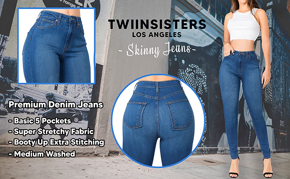 denim skinny jeans pants stretch levis