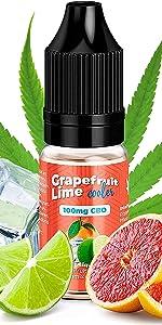 100 mg Grapefruit Lime Cooler