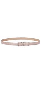 Women Skinny Leather Belts