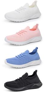 women walking tennis shoes