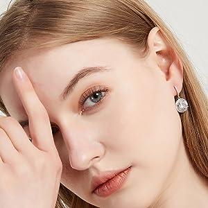 s925 cz earrings for women girls