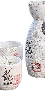Panbado Porcelain 5-Piece white Cherry Blossoms Rice Fruit Bowls,Japanese Soup Bowl 500ml