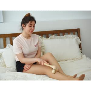 What is OhMy Muse Cypress Wood Body Massage Roller?