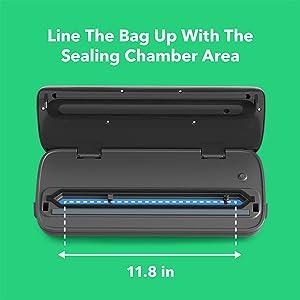 sealing chamber area
