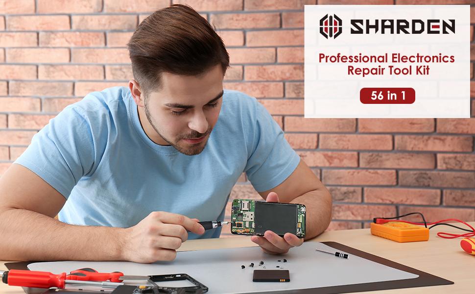 Professional Electronics Repair Tool Kit