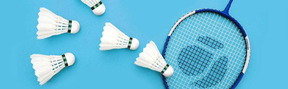 Senlukit 12-Pack Badminton Shuttlecocks,Sport Plastic Shuttlecocks Stable /& Durable Sports Training Badminton Balls for Indoor Outdoor Game