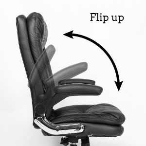 Ergonomic Reclining Office Chair High Back Napping Desk Chair