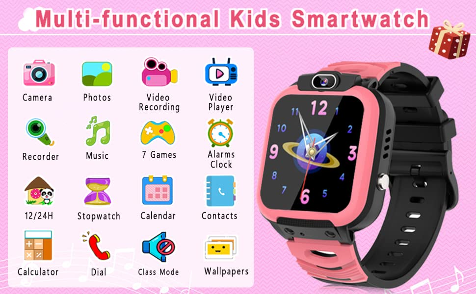 Electronic Learning Toys smart watch for kids