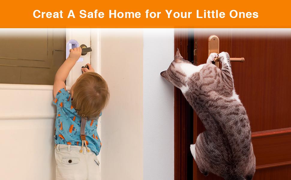 childproof door handle