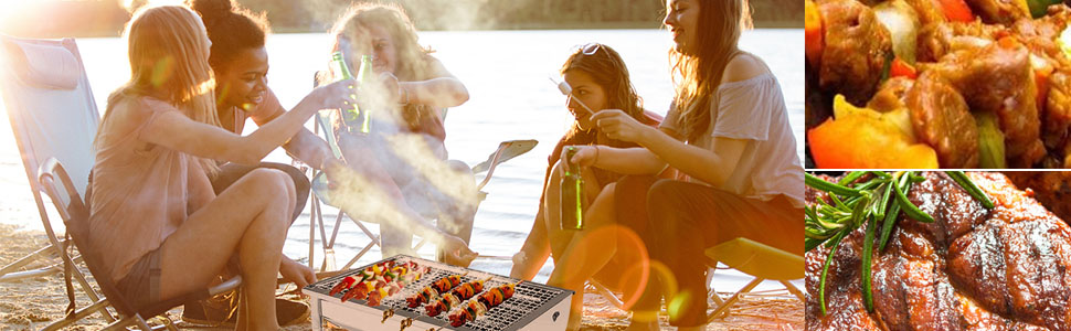 portable charcoal grill tabletop grill bbq grill charcoal small charcoal grill mini charcoal grill