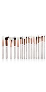rose gold makeup brushes