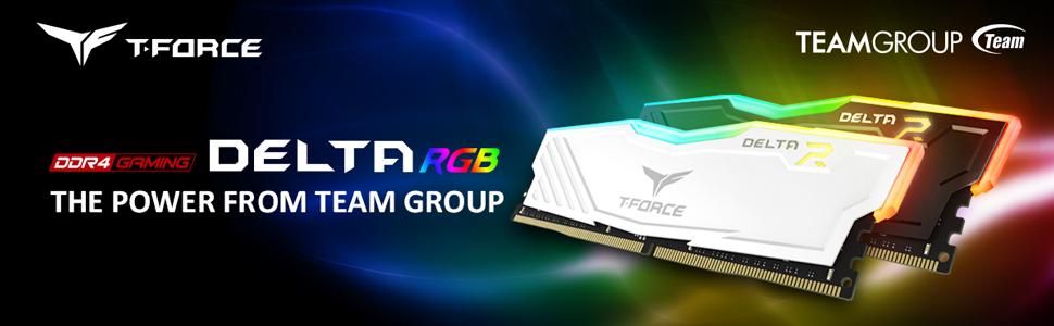 TEAMGROUP T-FORCE DELTA RGB DDR4 DESKTOP MEMORY MODULE