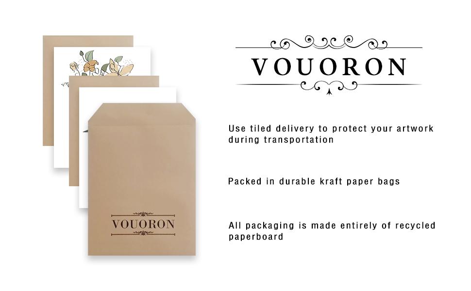 Packed in durable kraft paper bags